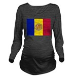 Andorra.jpg Long Sleeve Maternity T-Shirt