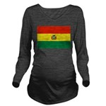 Bolivia.jpg Long Sleeve Maternity T-Shirt