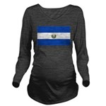 El Salvador.jpg Long Sleeve Maternity T-Shirt