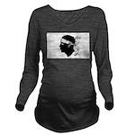 Corsica.jpg Long Sleeve Maternity T-Shirt