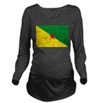 French Guiana.jpg Long Sleeve Maternity T-Shirt