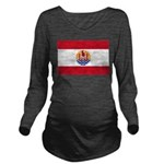 French Polynesia.jpg Long Sleeve Maternity T-Shirt