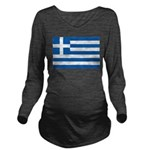 Greece.jpg Long Sleeve Maternity T-Shirt