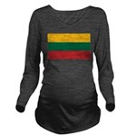 Lithuania.jpg Long Sleeve Maternity T-Shirt