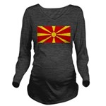 Macedonia.jpg Long Sleeve Maternity T-Shirt