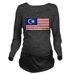 Malaysia.jpg Long Sleeve Maternity T-Shirt