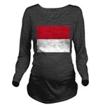 Monaco.jpg Long Sleeve Maternity T-Shirt