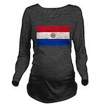 Paraguay.jpg Long Sleeve Maternity T-Shirt