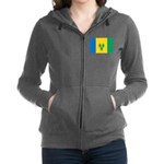 Saint Vincent and the Grenadines.jpg Zip Hoodie