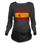 Spain.jpg Long Sleeve Maternity T-Shirt