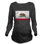 California.jpg Long Sleeve Maternity T-Shirt
