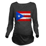 Puerto Rico.jpg Long Sleeve Maternity T-Shirt