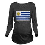 Uruguay.jpg Long Sleeve Maternity T-Shirt