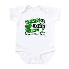 Peace Love Cure 1 TBI Infant Bodysuit