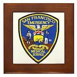 San Francisco EMS Framed Tile