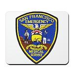 San Francisco EMS Mousepad