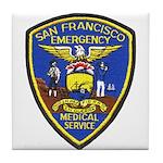 San Francisco EMS Tile Coaster