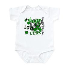 Peace Love Cure 2 TBI Infant Bodysuit