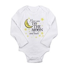 I love you to the moon and back Body Suit