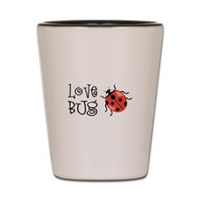 Love Bug Shot Glass