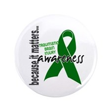 "Awareness 1 TBI 3.5"" Button (100 pack)"