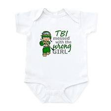 Combat Girl TBI Infant Bodysuit