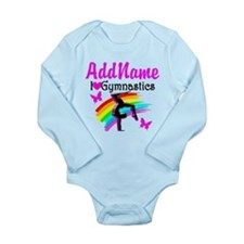 NUMBER 1 GYMNAST Long Sleeve Infant Bodysuit