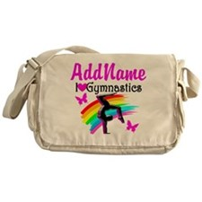 NUMBER 1 GYMNAST Messenger Bag