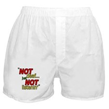 NOT deaf, just NOT listenin (black border) Boxer S