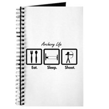 Eat. Sleep. Shoot. (Recurve) Journal