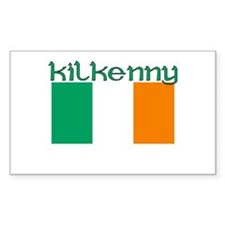 Kilkenny, Ireland (Dark) Rectangle Decal