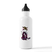 Dancing Geisha Kitty Water Bottle