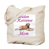 Golden Retriever Mom Tote Bag