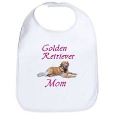 Golden Retriever Mom Bib
