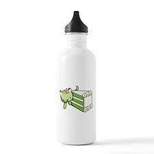 Gateau Matcha Kitty Water Bottle