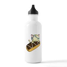 Eclair Kitty Water Bottle