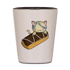 Eclair Kitty Shot Glass