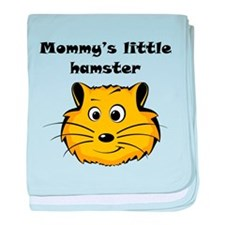 Mommys Little Hamster baby blanket