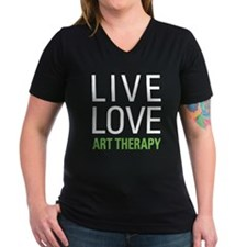 Live Love Art Therapy Shirt