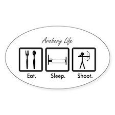 Eat. Sleep. Shoot. (Compound) Decal