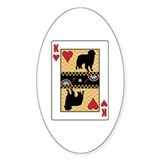 King Toller Oval Decal