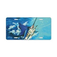 Sailfish Aluminum Aluminum License Plate