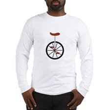Red Unicycle Long Sleeve T-Shirt