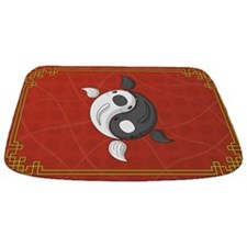 Yin and Yang Bathmat