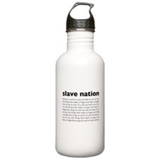 slave nation Water Bottle