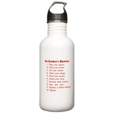 An Archers Mantra Stainless Water Bottle 1.0l