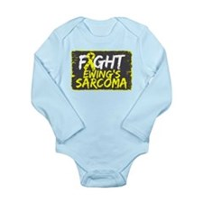 Fight Ewing Sarcoma Long Sleeve Infant Bodysuit