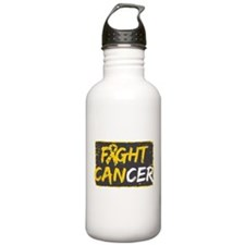 Fight Childhood Cance Water Bottle