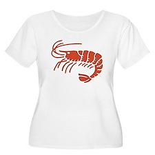 Crab Plus Size T-Shirt