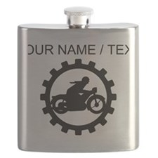 Custom Motorcycle Gear Flask